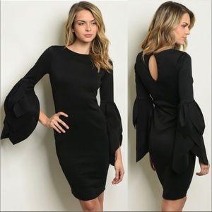 AMAZING Black Bodycon Dress